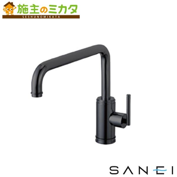三栄水栓 【K87410JV-MDP-13】 シングルワンホール混合栓 混合水栓 ★