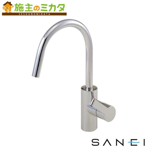 三栄水栓 【K8751JV-13】 シングルワンホール混合栓 混合水栓 ★
