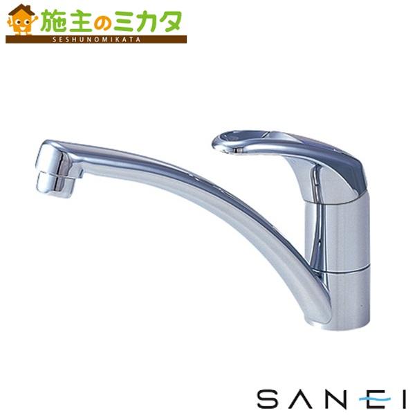 三栄水栓 【K876JK-13】 シングルワンホール混合栓 寒冷地用 混合水栓 ★