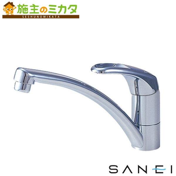 三栄水栓 【K876JV-13】 シングルワンホール混合栓 混合水栓 ★