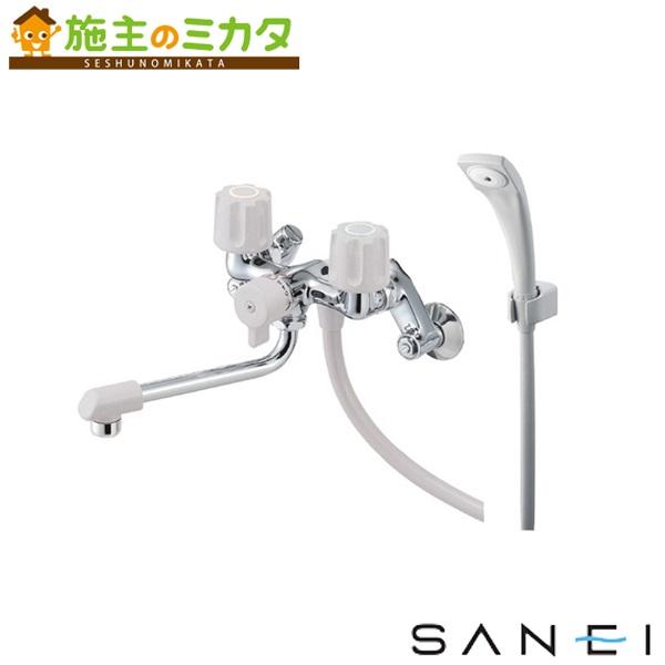 三栄水栓 【SK1104D-LH-13】 ツーバルブシャワー混合栓 一時止水 混合水栓 ★