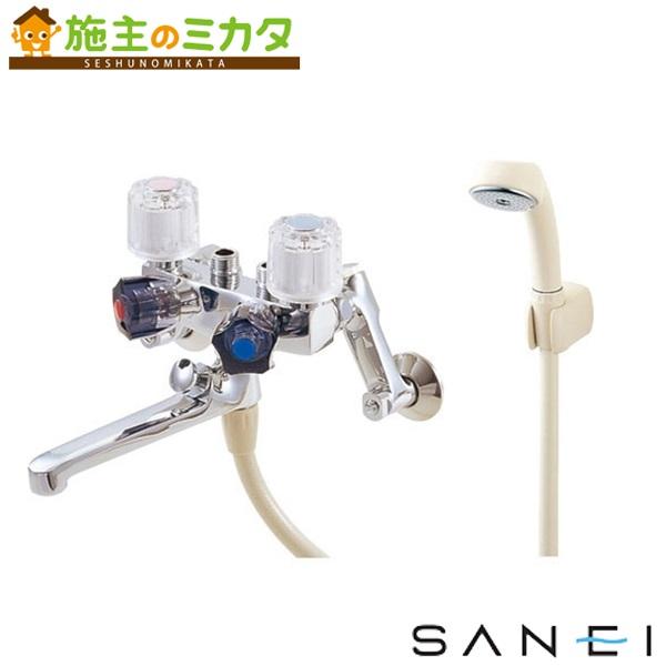 三栄水栓 【SK161-13】 ソーラ4バルブシャワー混合栓 混合水栓 ★