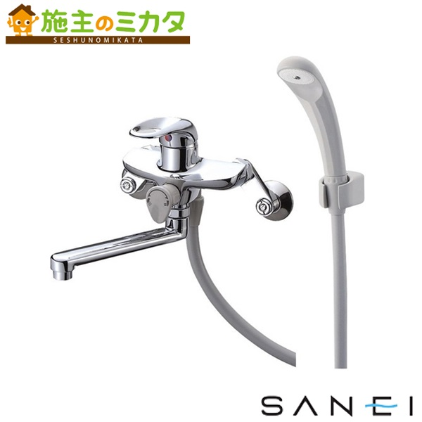 三栄水栓 【SK1710-13】 シングルシャワー混合栓 混合水栓 ★