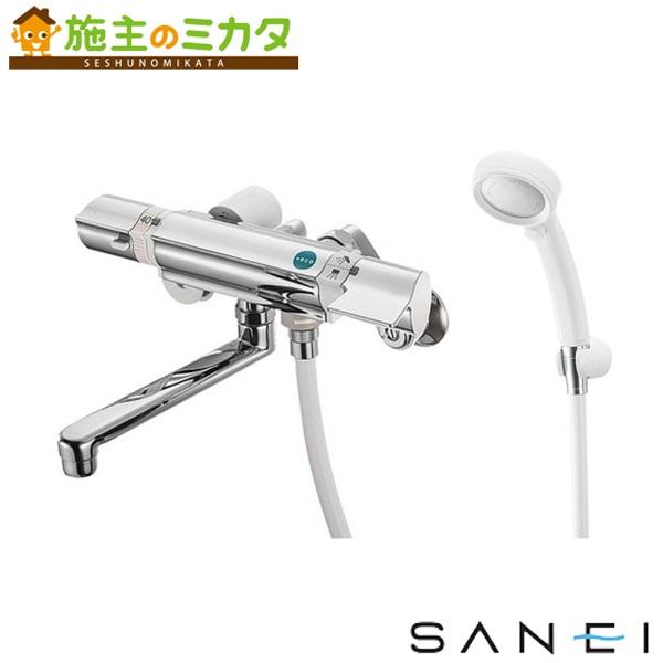 三栄水栓 【SK18121CT-13】 サーモシャワー混合栓 レイニー付 混合水栓 ★