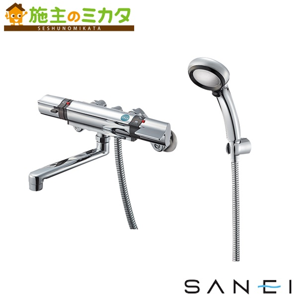 三栄水栓 【SK18121CTCK-13】 サーモシャワー混合栓 混合水栓 ★