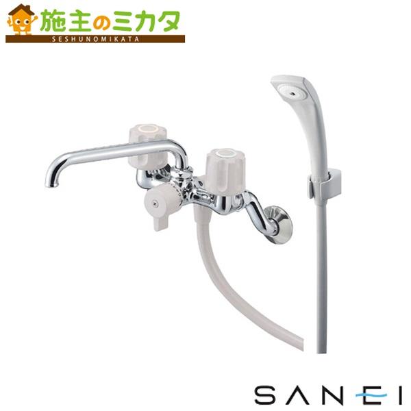 三栄水栓 【SK21-LH-13】 ツーバルブシャワー混合栓 混合水栓 ★