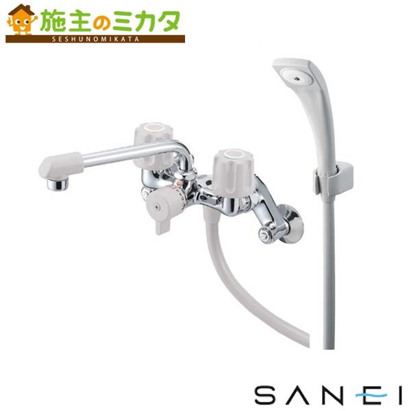 三栄水栓 【SK2104DK-LH-13】 ツーバルブシャワー混合栓 混合水栓 ★