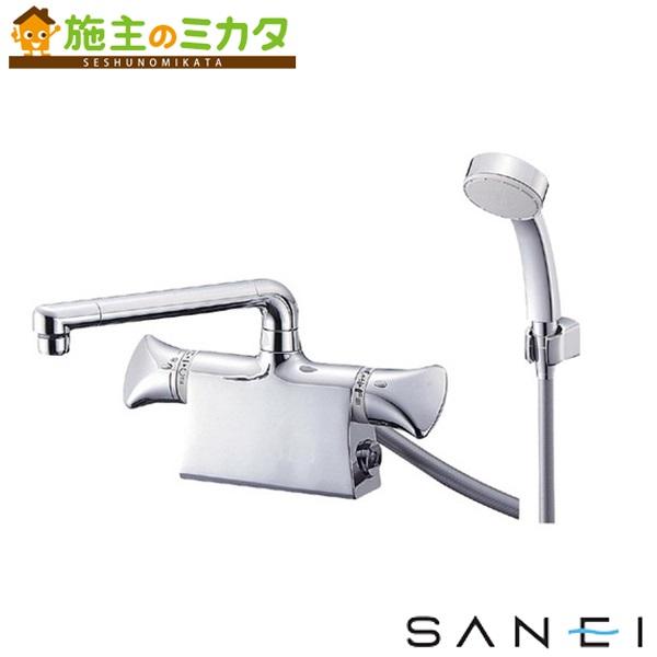 三栄水栓 【SK78010DS9K-13】 サーモデッキシャワー混合栓 混合水栓 ★