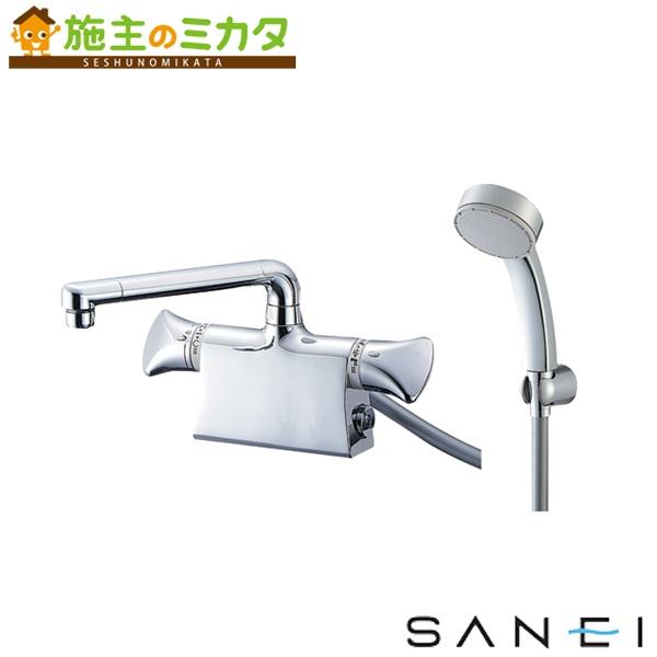 三栄水栓 【SK78011DS9K-13】 サーモデッキシャワー混合栓 混合水栓 ★