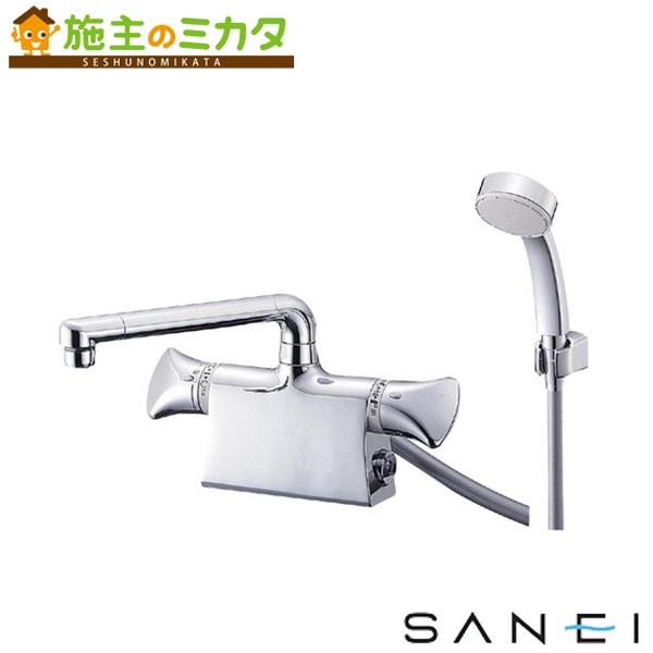 三栄水栓 【SK7801DS9K-13】 サーモデッキシャワー混合栓 混合水栓 ★