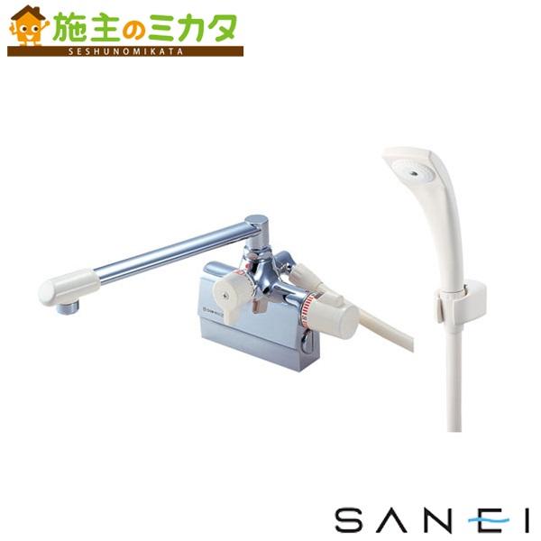三栄水栓 【SK780DK-13】 サーモデッキシャワー混合栓 混合水栓 ★