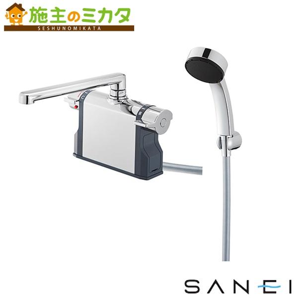 三栄水栓 【SK7810-S9L30】 サーモデッキシャワー混合栓 混合水栓 ★