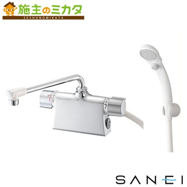 三栄水栓 【SK7850D-L-13】 サーモデッキシャワー混合栓 混合水栓 ★