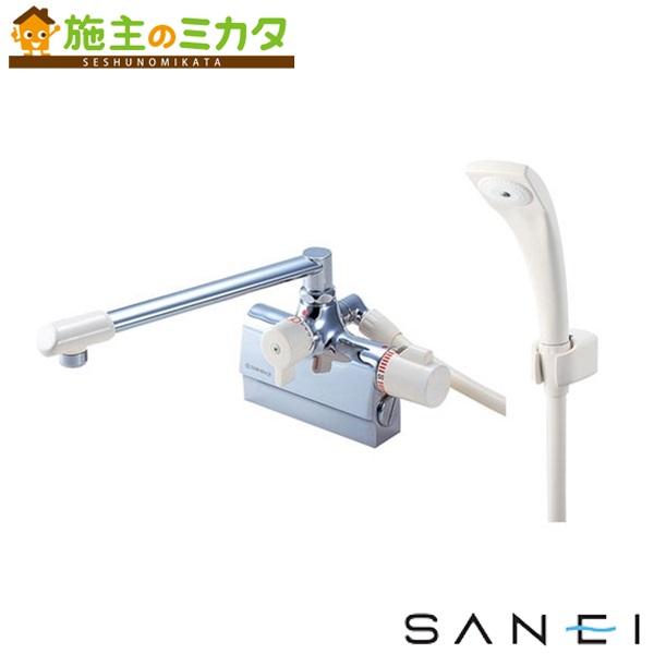 三栄水栓 【SK78DK-13】 サーモデッキシャワー混合栓 混合水栓 ★