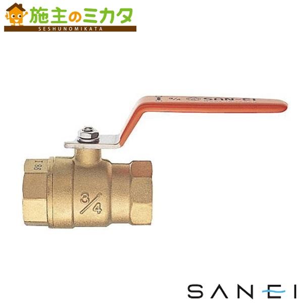 三栄水栓 【V650-100】 ボールバルブT型 ★