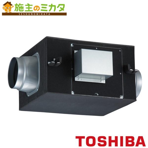 東芝 換気扇 ストレートダクトファン 【DVS-100SSUK】※ 消音給気形 単相100V