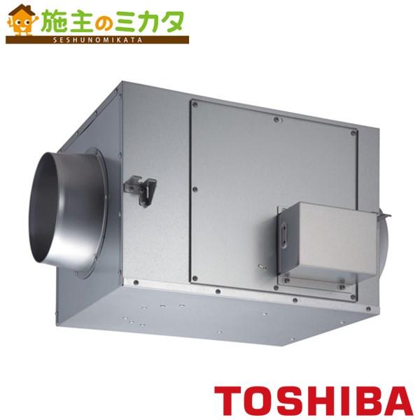 東芝 換気扇 ストレートダクトファン 【DVS-100TUK】※ 消音形 3相200V
