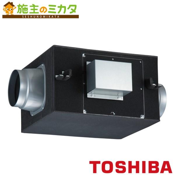 東芝 換気扇 ストレートダクトファン 【DVS-80SSUK】 消音給気形 単相100V ★