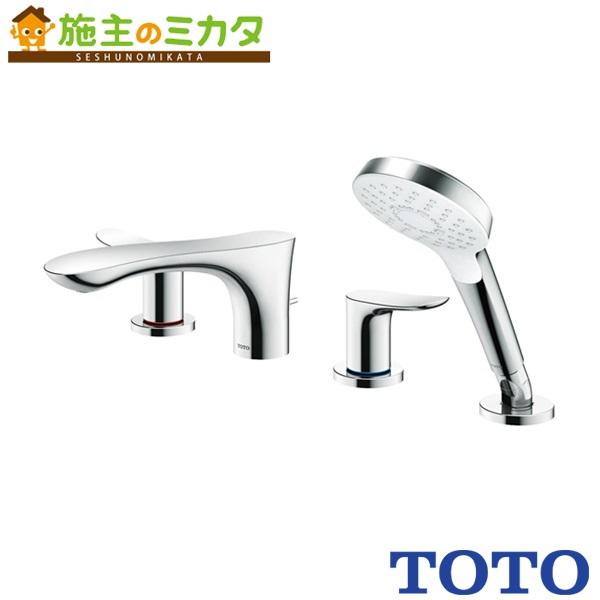 TOTO 洗面所用水栓 【TBG01202J】 GOシリーズ 台付2ハンドル混合水栓 一般地・寒冷地共用