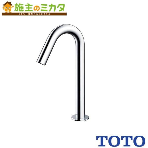 TOTO 水栓金具 【TENA12ALW】 アクアオート 台付自動水栓 発電タイプ 単水栓