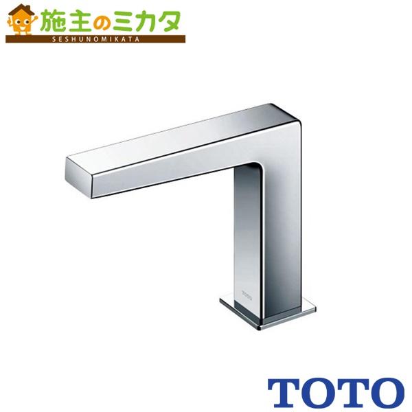 TOTO 水栓金具 【TENA12E】 アクアオート 台付自動水栓 AC100Vタイプ 単水栓