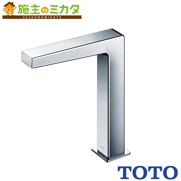 TOTO 水栓金具 【TENA12FL】 アクアオート 台付自動水栓 AC100Vタイプ 単水栓