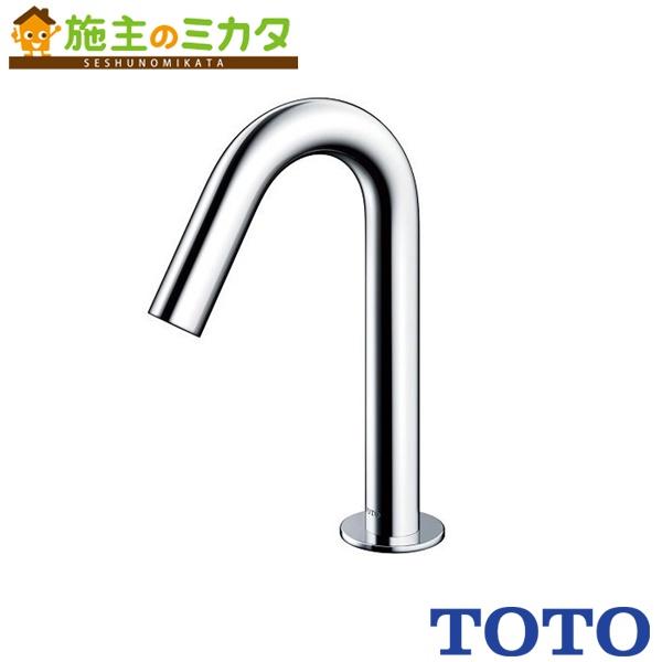 TOTO 水栓金具 【TENA22A】 アクアオート 台付自動水栓 AC100Vタイプ サーモスタット