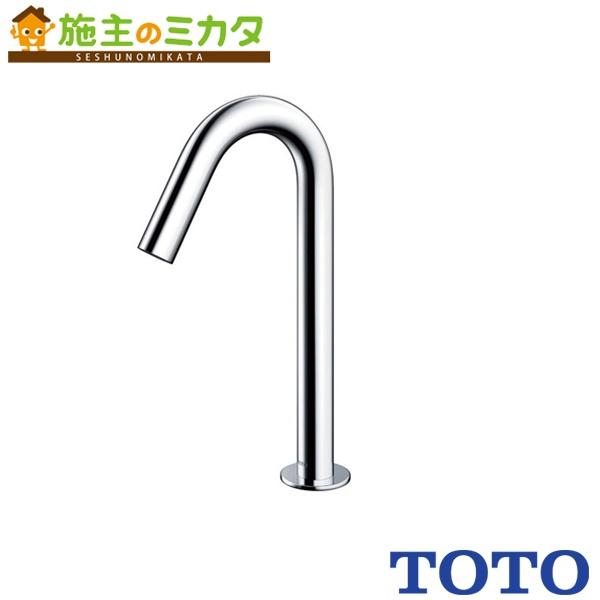 TOTO 水栓金具 【TENA22ALW】 アクアオート 台付自動水栓 発電タイプ サーモスタット