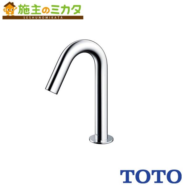 TOTO 水栓金具 【TENA22AW】 アクアオート 台付自動水栓 発電タイプ サーモスタット