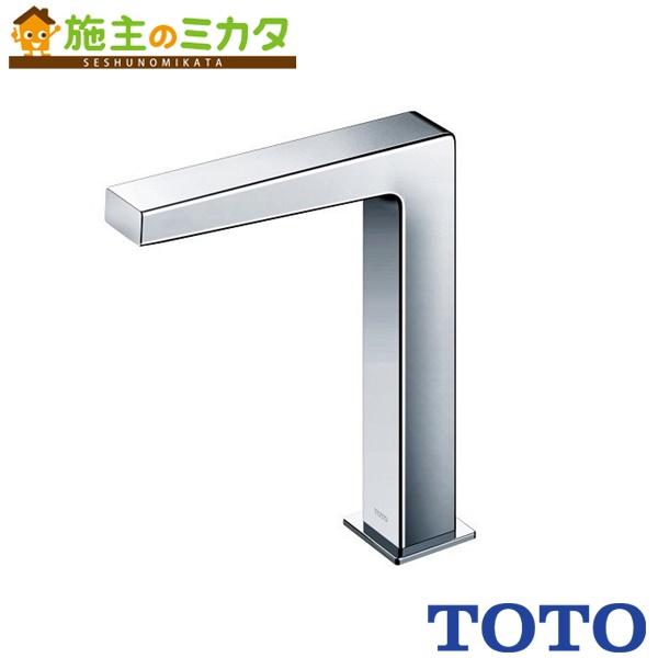 TOTO 水栓金具 【TENA22FL】 アクアオート 台付自動水栓 AC100Vタイプ サーモスタット