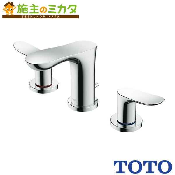 TOTO 洗面所用水栓 【TLG01201J】 GOシリーズ 台付2ハンドル混合水栓 一般地・寒冷地共用