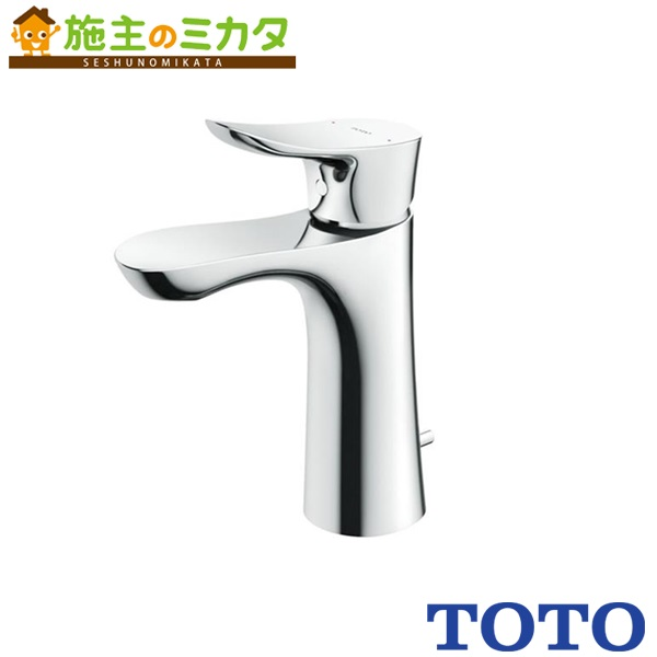 TOTO 洗面所用水栓 【TLG01303Z】 GOシリーズ 台付きシングル 混合水栓 ワンプッシュなし 寒冷地仕様 エコシングル