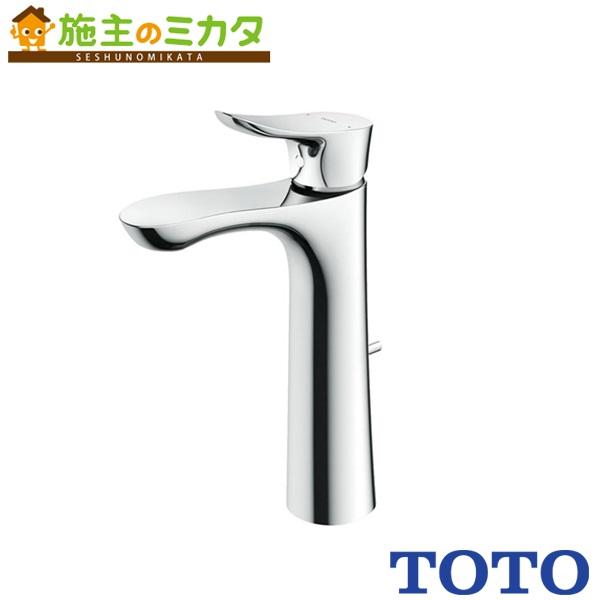 TOTO 洗面所用水栓 【TLG01306JA】 GOシリーズ 台付きシングル 混合水栓 ワンプッシュなし エコシングル