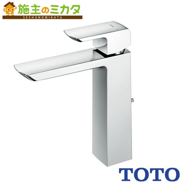 TOTO 洗面所用水栓 【TLG02306J】 GRシリーズ 台付きシングル混合水栓 逆支弁 ワンプッシュなし エコシングル