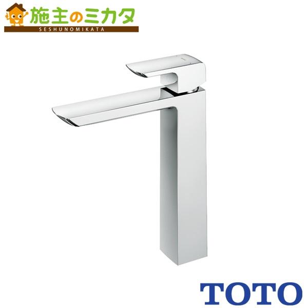 TOTO 洗面所用水栓 【TLG02308JA】 台付きシングル混合水栓 ワンプッシュなし エコシングル