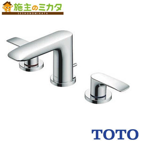 TOTO 洗面所用水栓 【TLG04201J】 GAシリーズ 台付2ハンドル 混合水栓 一般地・寒冷地共用