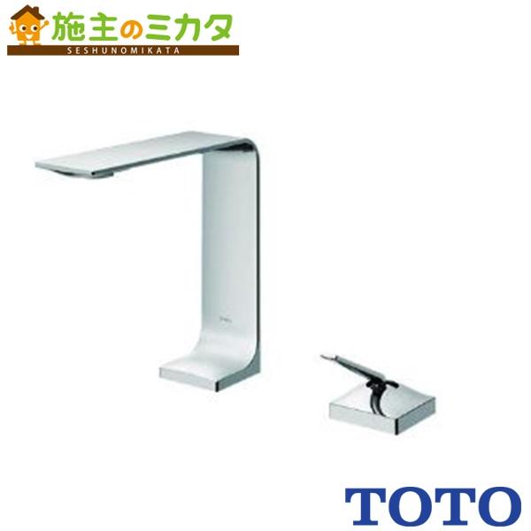 TOTO 洗面所用水栓 【TLP02302JA】 台付きシングル混合水栓 ワンプッシュ式 エコシングル 蛇口