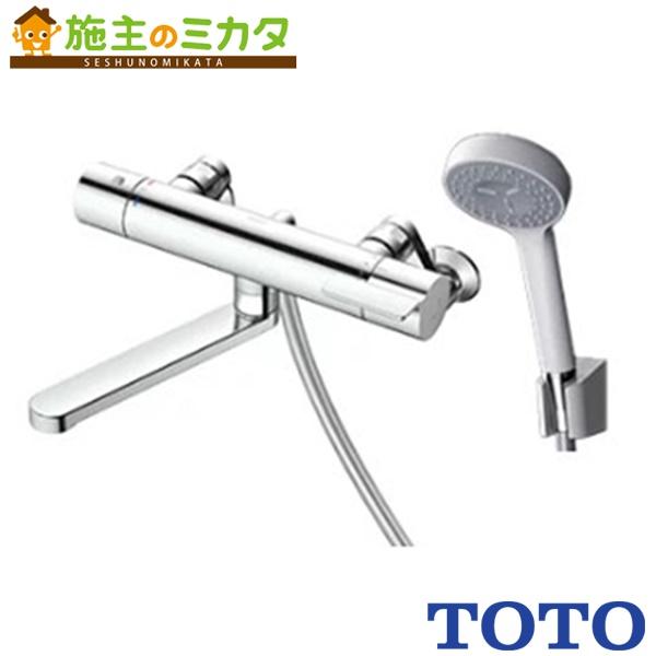 TOTO 浴室用水栓金具 【TBV03401J】 GGシリーズ 壁付サーモスタット混合水栓 コンフォートウエーブ 蛇口