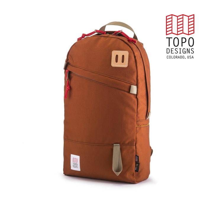 TOPO DESIGNS トポデザイン Daypack デイパック Clay クレー Backpack バックパック アウトドア カジュアル パソコン収納 リュック メンズ レディース