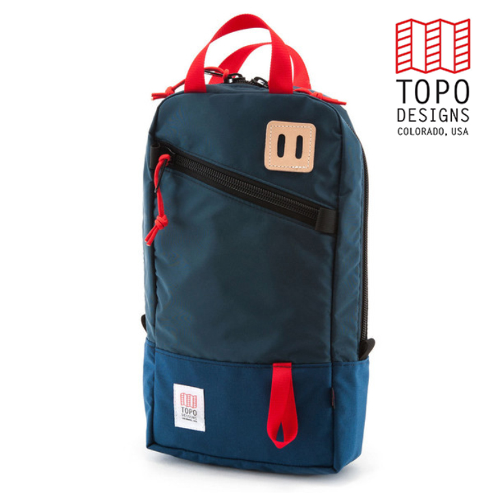 TOPO DESIGNS トポデザインTrip Pack トリップパック Navy ネイビー Backpack バックパック アウトドア カジュアル パソコン収納 リュック メンズ レディース