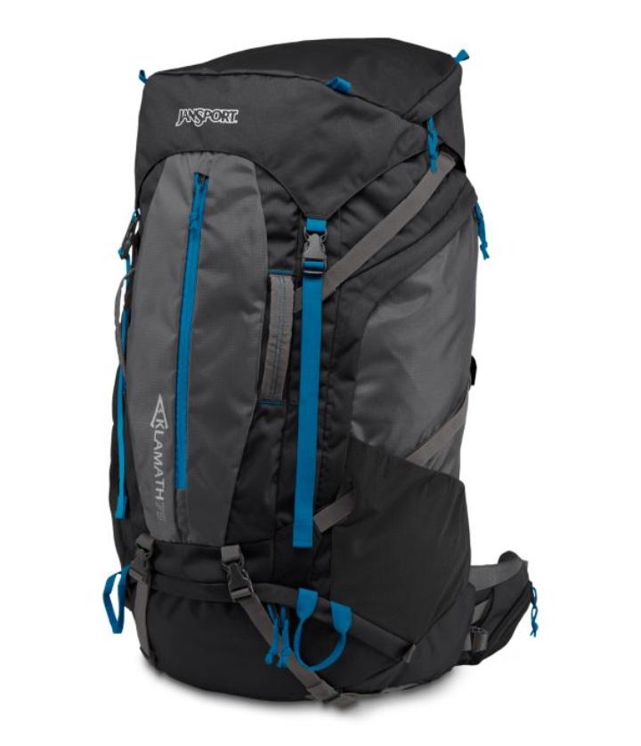 ジャンスポーツ JANSPORT クラマス75 Klamath 75 登山用 長距離ハイキング バックパック リュックサック