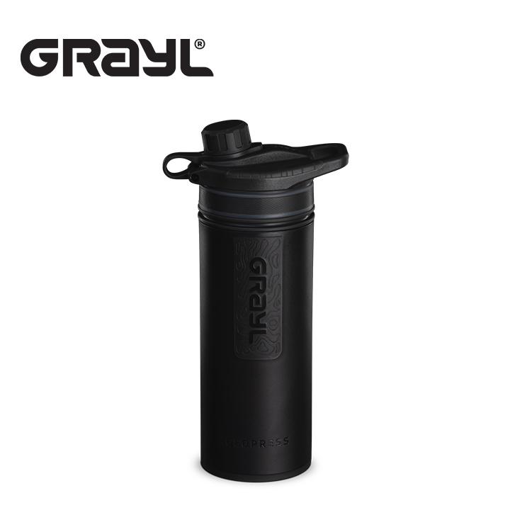 送料無料 グレイル GRAYL ジオプレス ピュリファイヤー 浄水ボトル 浄水器 水 水筒 超特価 豊富な品 給水 710ml 海外旅行 ブラックアウトドア