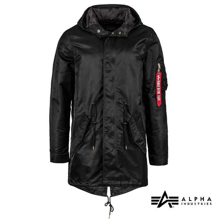 アルファインダストリー ALPHA INDUSTRIES nylon fishtail mod メンズ ジャケット