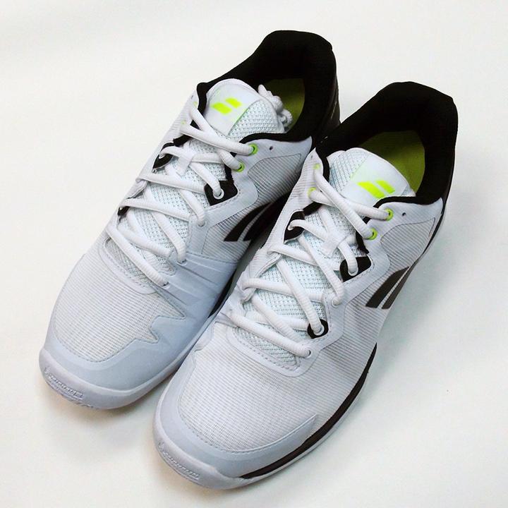 バボラ SFX3 オールコート テニス シューズ ブラック/シルバー Babolat SFX3 All Court Men's Shoes Black/Silver