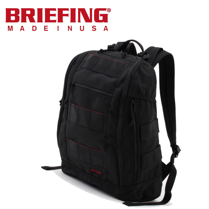 ブリーフィング BRIEFING グラビティーパック GRAVITY PACK バックパック ブラック デイパック リュックサック