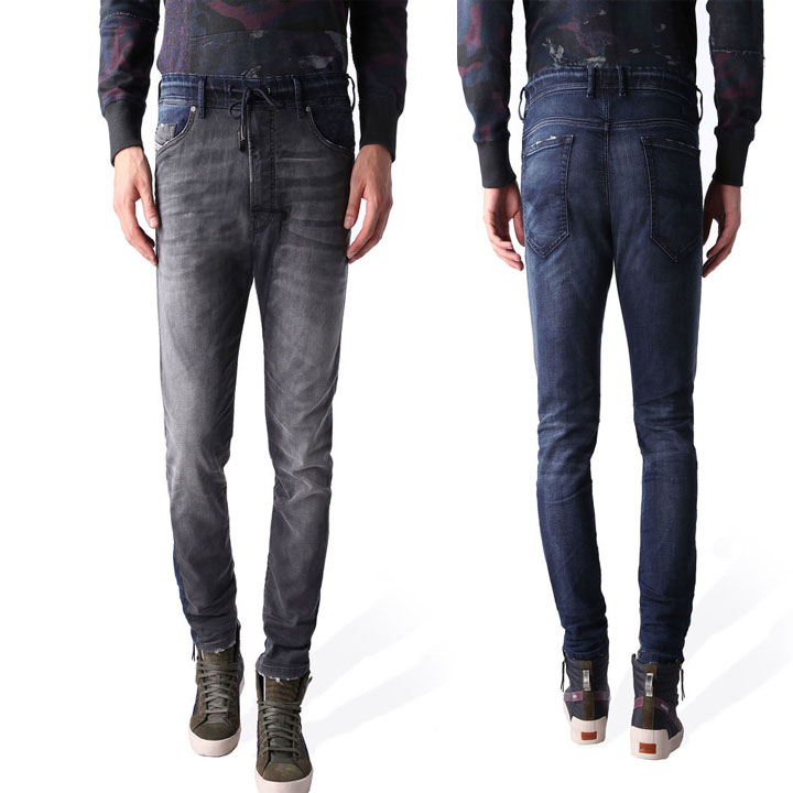 ディーゼル DIESEL ジョグジーンズ Jogg Jeans NARROT-NE Jeans Jogg Jeans スウェット デニム 0668Y