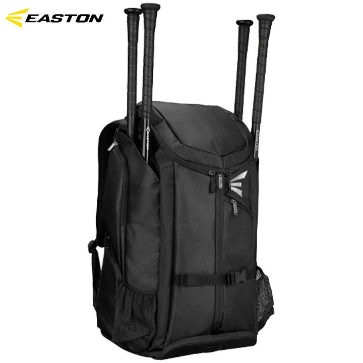 【USA物】イーストン EASTON プロX Pro X 野球 ブラック バットパック バックパック 収納豊富 バット4本差し