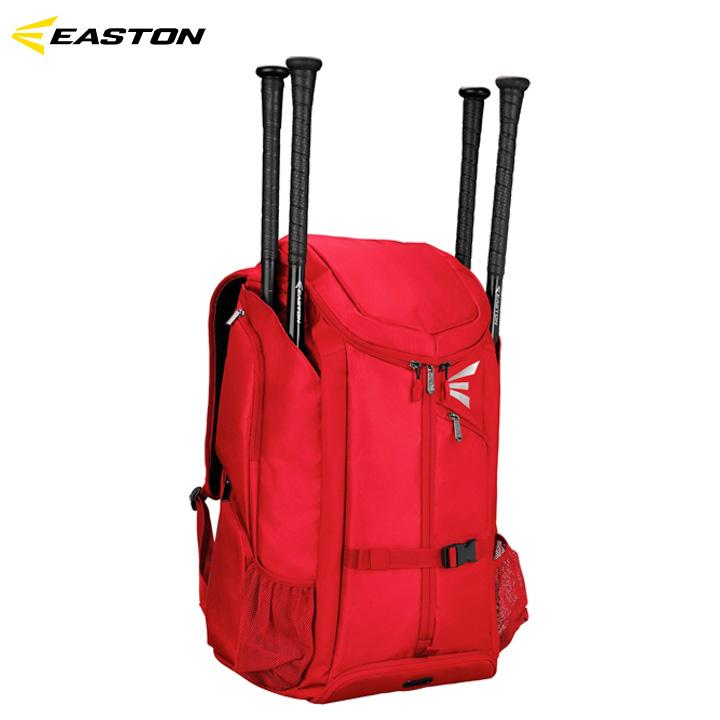 【送料無料】イーストン EASTON プロX Pro X 野球 レッド バットパック バックパック 収納豊富 バット4本差し