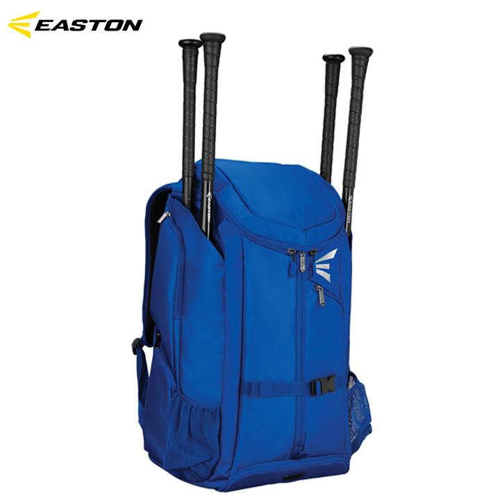 【送料無料】イーストン EASTON プロX Pro X 野球 ロイヤルブルー バットパック バックパック 収納豊富 バット4本差し