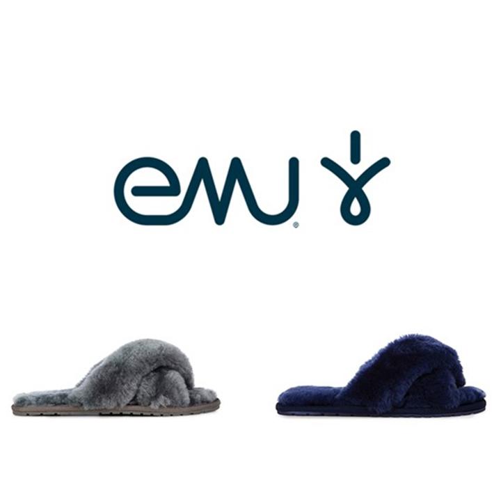 EMU  エミュー Mayberry  メイベリー W11573 ムートンブーツ シープスキン モカシン サンダル スリッパ ファーサンダル ルームシューズ  レディース靴